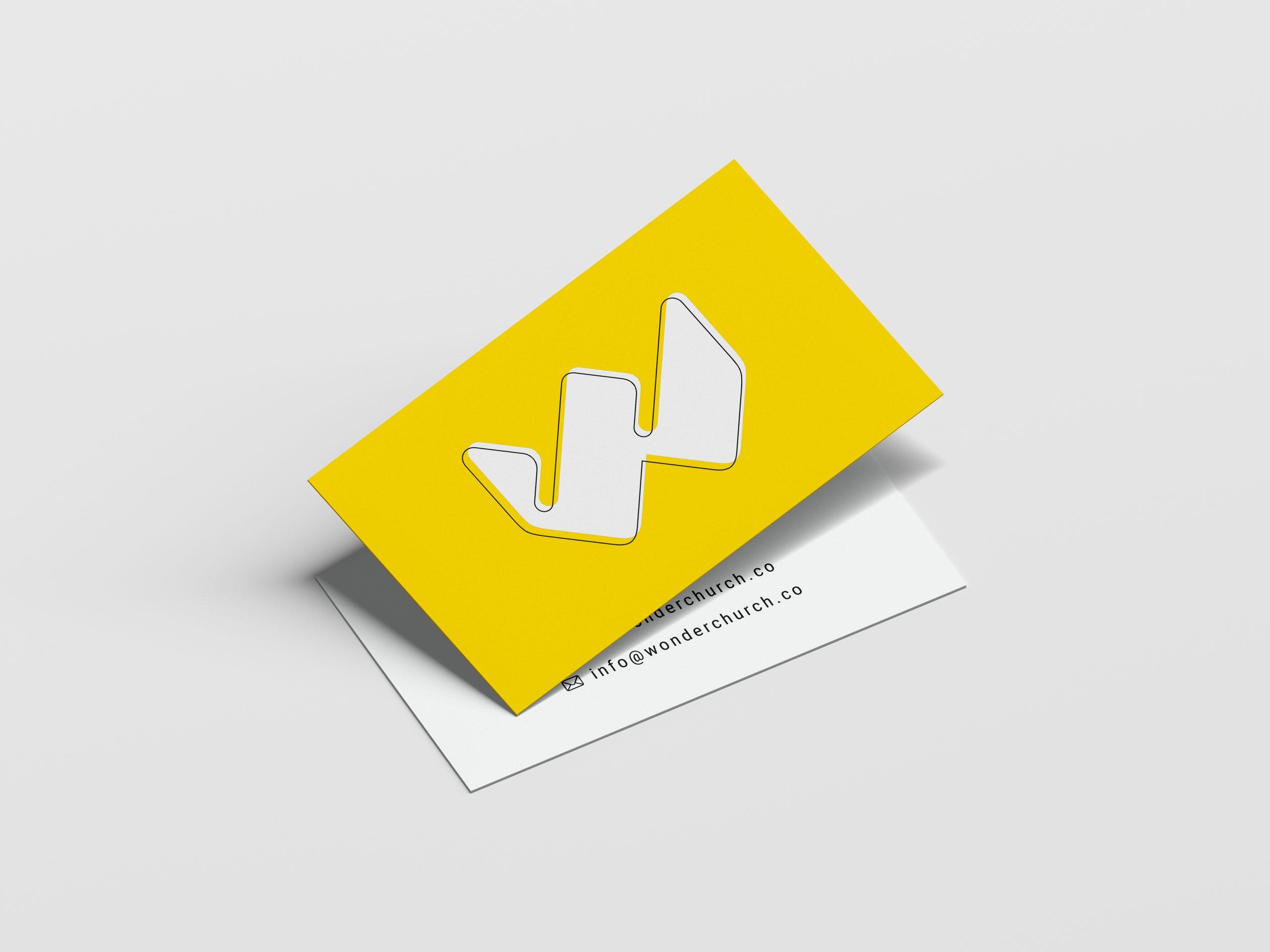 Wonder Church Business Card
